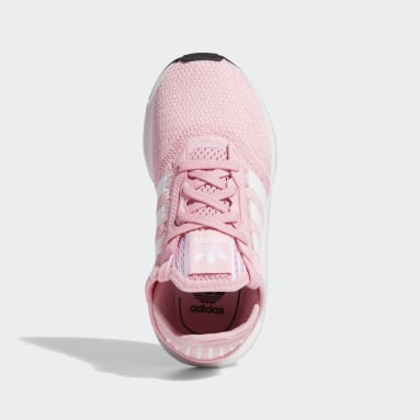 Sapatos Swift Run X Rosa Criança Originals