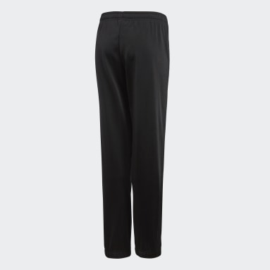Youth 8-16 Years Football Black Core 18 Tracksuit Bottoms