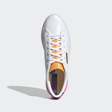 adidas SLEEK W Blanco Mujer Originals