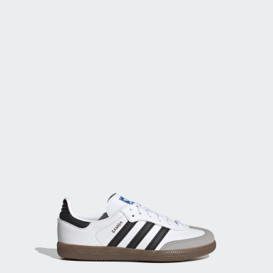 Kids 4-8 Years Originals White Samba OG Shoes