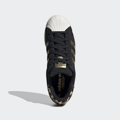 Women Originals Black Superstar Shoes