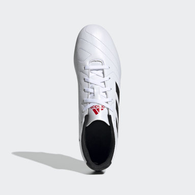 Men Football White Goletto VII Firm Ground Boots