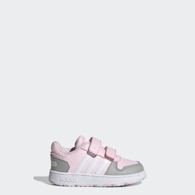 Kinderen Basketbal Roze Hoops 2.0 Schoenen