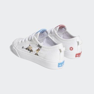 เด็ก Originals สีขาว รองเท้า Nizza x Star Wars