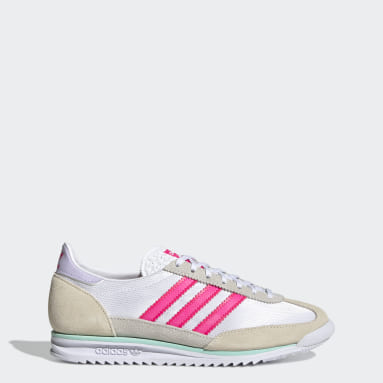 Women Originals White SL 72 Shoes