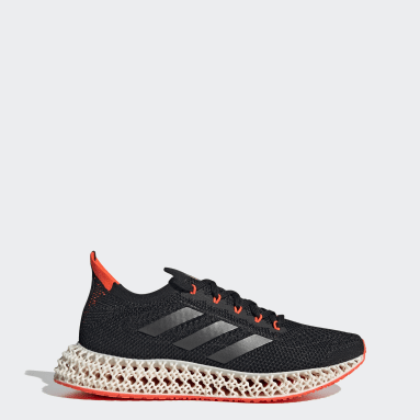 Men Running Black adidas 4DFWD Shoes