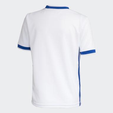 Camisa Cruzeiro 2 Branco Meninos Futebol
