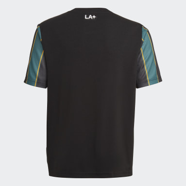 Youth Soccer Black LA Galaxy 21/22 Away Jersey