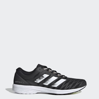 Men Running Black Adizero RC 3 Shoes