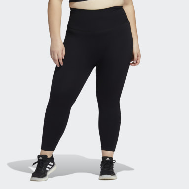 Women Training Black Formotion Sculpt Tights (Plus Size)