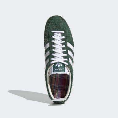Women Originals Green Gazelle Vintage Shoes