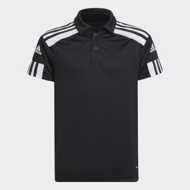 Kids Football Black Squadra 21 Polo Shirt