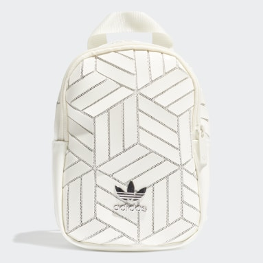 Women Originals White Mini 3D Backpack
