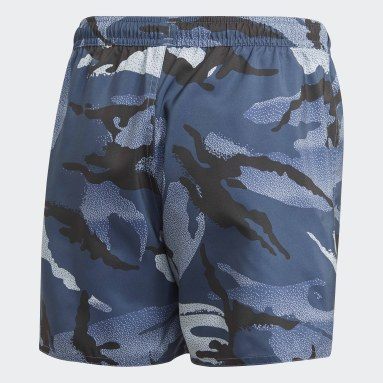 синий Шорты для плавания Camouflage