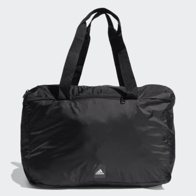 Tennis Black Packable Carry Bag