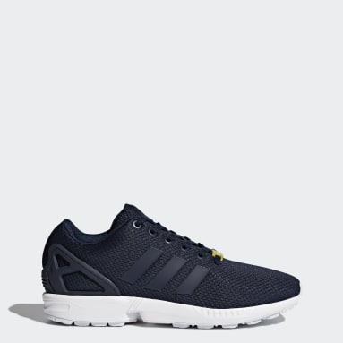Women Originals Blue ZX Flux Shoes