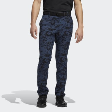 Men Golf Blue Ultimate365 Camo Pants