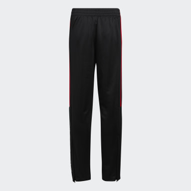 Youth Training Red Soccer Pants