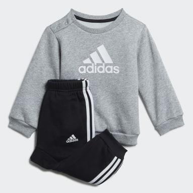 Børn Fitness Og Træning Grå Badge of Sport joggingdragt