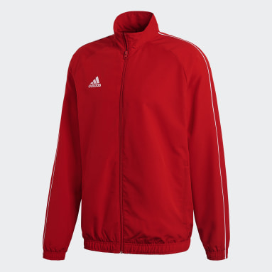 Men Gym & Training Red Core 18 Presentation Track Top