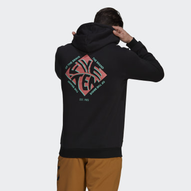 Sudadera con capucha Five Ten Graphic Negro Hombre Five Ten
