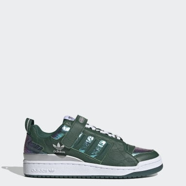 Men Originals Green Forum Low Shoes