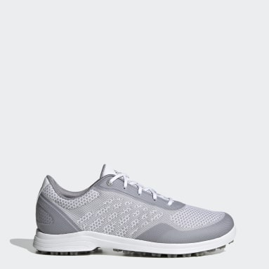 Scarpe da golf Alphaflex Sport Spikeless Bianco Donna Golf