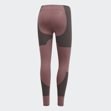 Women's adidas by Stella McCartney Pink Lycra FitSense+ Training Tights