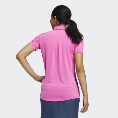 Women Golf Pink Ultimate365 Solid Polo Shirt