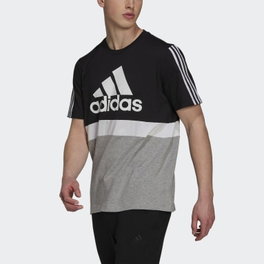 T-shirt Essentials Preto Homem Sportswear