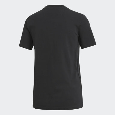 Women Originals Black Trefoil Tee