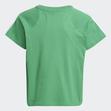 Girls Gym & Training Green Bold Tee