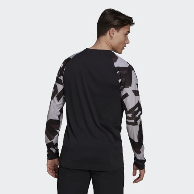 Men Five Ten Black Five Ten TrailX Long-Sleeve Top