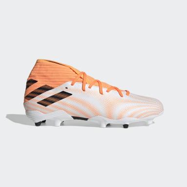 Zapatos de fútbol Nemeziz.3 Terreno Firme Blanco Hombre Fútbol