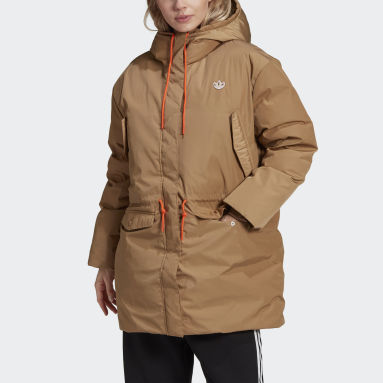 Parka Down Marron Femmes Originals