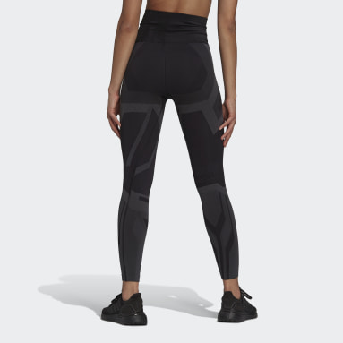 Women Gym & Training Black Formotion Sculpt Two-Tone Tights