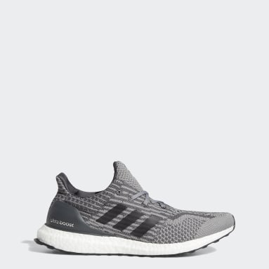 Running Grey Ultraboost 5.0 Uncaged DNA Shoes