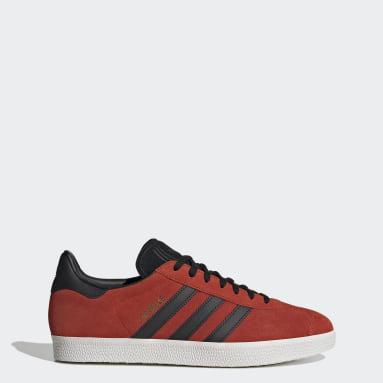 Frauen Originals Gazelle Schuh Rot