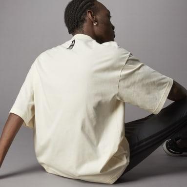 T-shirt de Algodão de Produção Biológica Terra Love Branco Lifestyle