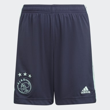 Ajax Amsterdam 21/22 Away Shorts Niebieski