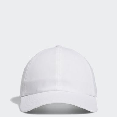 Gorra Heathered Crestable Blanco Mujer Golf
