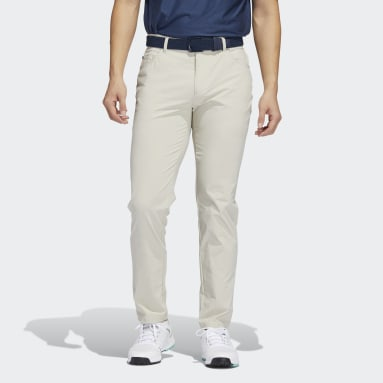 Men Golf Beige Go-To Five-Pocket Pants