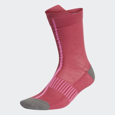 Women's Training Pink Ultralight Crew Performance Socks