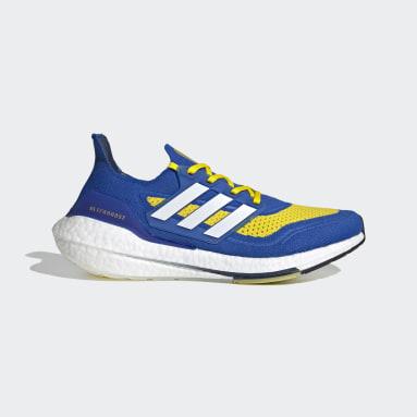 Tênis Ultraboost 21 Azul Homem Running