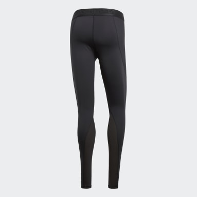 Mallas Alphaskin Negro Hombre Training