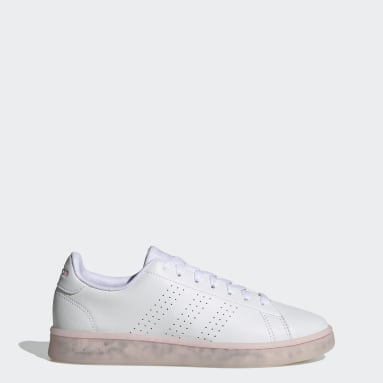 Women Sport Inspired White Advantage Eco Shoes