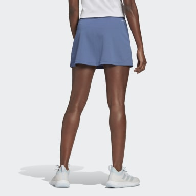 Women Tennis Blue Club Tennis Skirt