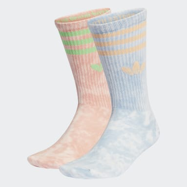 Originals Blue Tie-Dyed Socks 2 Pairs