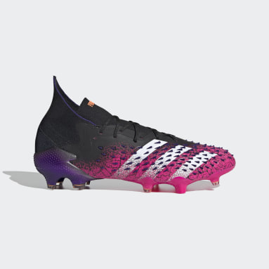 Botas de Futebol Predator Freak.1 – Piso firme Preto Futebol