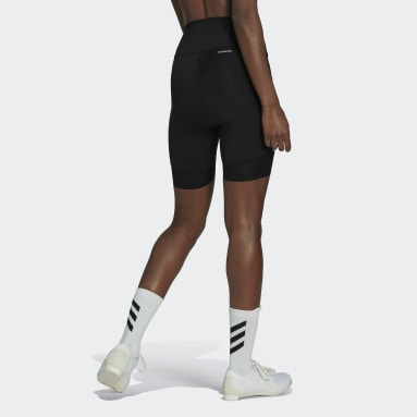 Dames Wielrennen Zwart The Strapless Cycling Bib Short